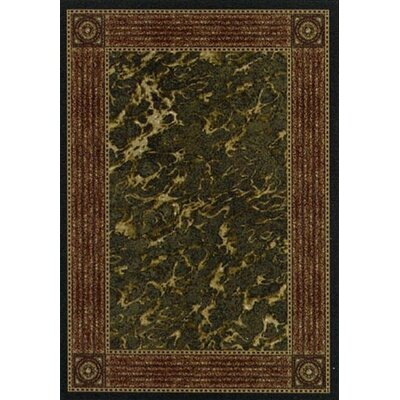 Innovation Onyx Carrara Area Rug Rug Size: Oval 54 x 78