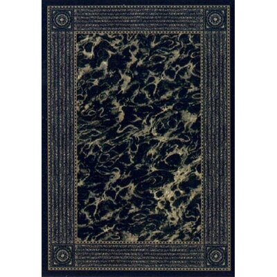 Innovation Prussian Blue Carrara Area Rug Rug Size: 109 x 132