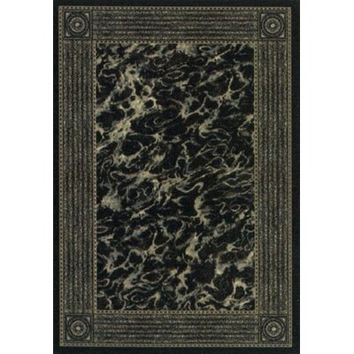 Innovation Onyx Slate Carrara Are Rug Rug Size: Oval 54 x 78