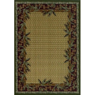 Innovation Olive Osaka Area Rug Rug Size: Oval 310 x 54