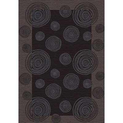 Innovation Pewter Wabi Area Rug Rug Size: Oval 54 x 78