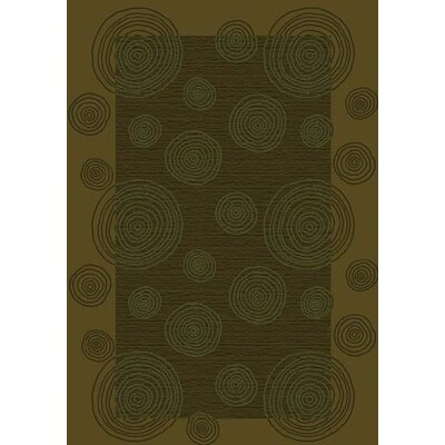 Innovation Tobacco Wabi Area Rug Rug Size: Rectangle 109 x 132