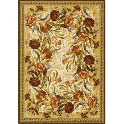 Pastiche Barrington Court Cocoa Rug Rug Size: Oval 78 x 109
