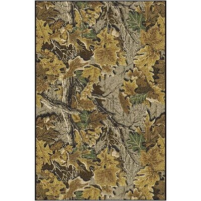 Realtree Advantage Solid Camo Area Rug Rug Size: Rectangle 54 x 78