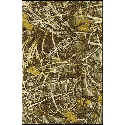 Realtree Max 4 Solid Camo Area Rug Rug Size: Rectangle 310 x 54
