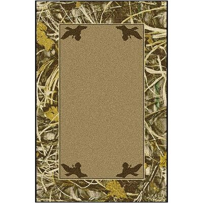 Realtree Max 4 Solid Center Area Rug Rug Size: Rectangle 28 x 310