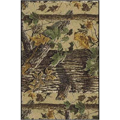 Realtree X-tra Solid Camo Area Rug Rug Size: Rectangle 54 x 78