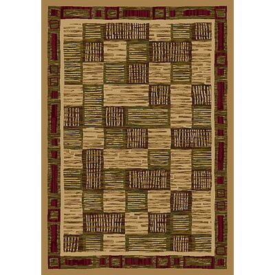 Innovation Maize Kirala Area Rug Rug Size: Round 77