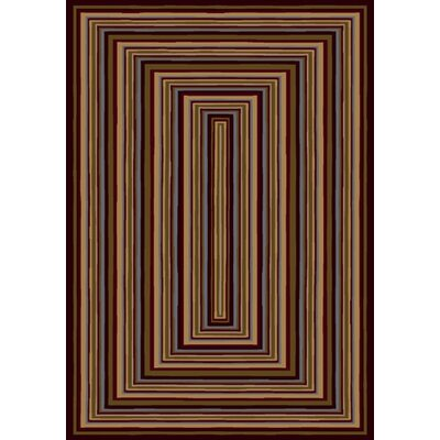Innovation Rylie Dark Chocolate Area Rug Rug Size: 54 x 78