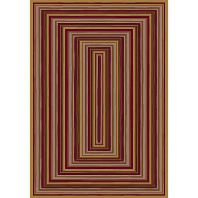 Innovation Rylie Golden Topaz Area Rug Rug Size: Rectangle 109 x 132