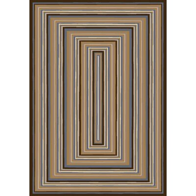 Innovation Rylie Dark Amber Aera Rug Rug Size: Square 77