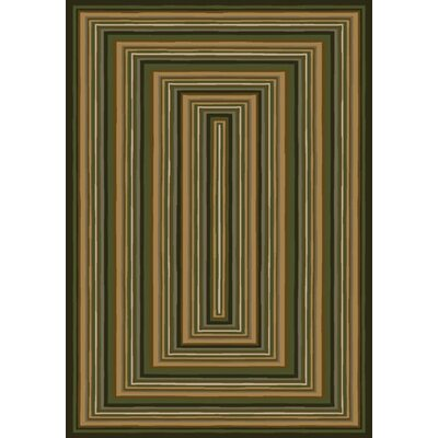 Innovation Rylie Olive Area Rug Rug Size: Oval 310 x 54