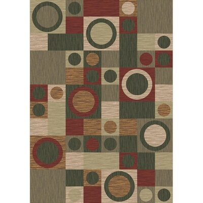 Pastiche Rialto Alpine Area Rug Rug Size: Rectangle 310 x 54