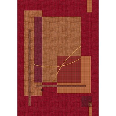 Pastiche Fairmont Sangria Rug Rug Size: Rectangle 54 x 78