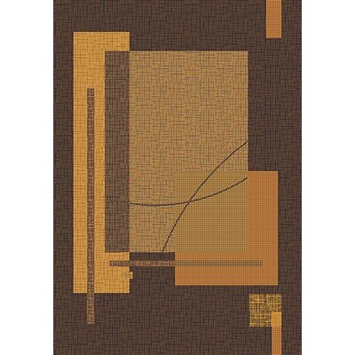 Pastiche Fairmont Brown Rug Rug Size: Rectangle 78 x 109