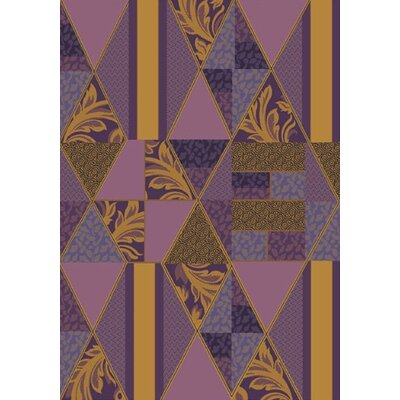 Pastiche Valencia Lilac Area Rug Rug Size: Rectangle 78 x 109