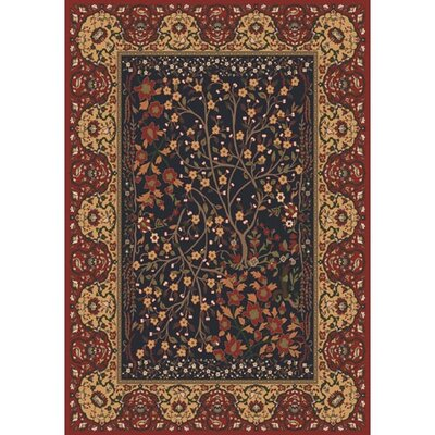 Pastiche Kashmiran Balsa Russet Red Area Rug Rug Size: Rectangle 310 x 54