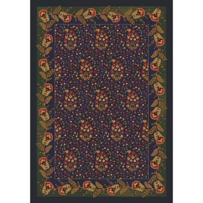 Pastiche Kashmiran Caramay Midnight Area Rug Rug Size: Rectangle 109 x 132
