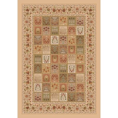 Pastiche Kashmiran Pristina Boston Creme Area Rug Rug Size: Rectangle 78 x 109