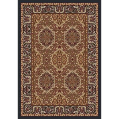 Pastiche Kashmiran Samarra Ebony Area Rug Rug Size: Rectangle 109 x 132