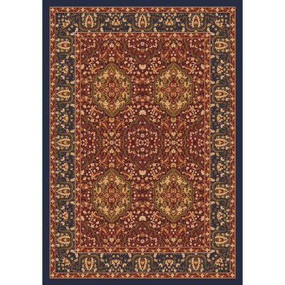 Pastiche Kashmiran Samarra Midnight Area Rug Rug Size: Rectangle 78 x 109