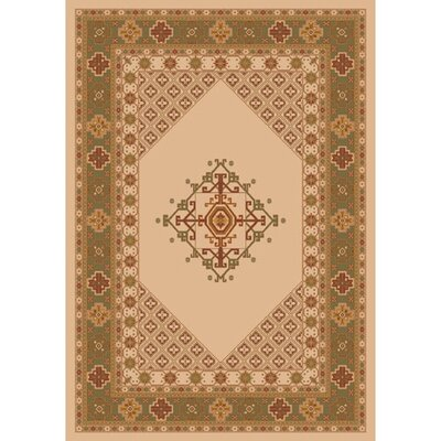 Pastiche Kashmiran Terkan Boston Creme Area Rug Rug Size: Rectangle 109 x 132
