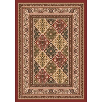 Pastiche Kashmiran Tournai Russet Rug Rug Size: Rectangle 54 x 78