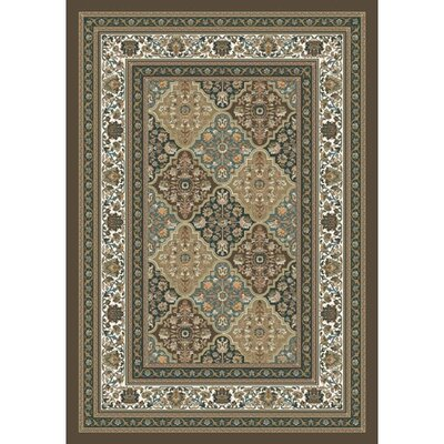 Pastiche Kashmiran Tournai Hazy Forest Rug Rug Size: Rectangle 78 x 109