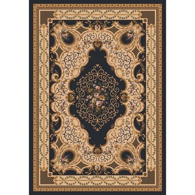 Pastiche Kashmiran Valette Ebony Rug Rug Size: Rectangle 28 x 310