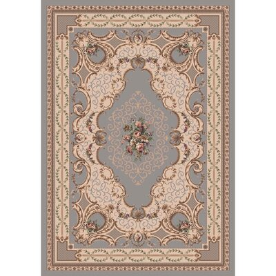 Pastiche Kashmiran Valette Blue Haze Area Rug Rug Size: Rectangle 78 x 109