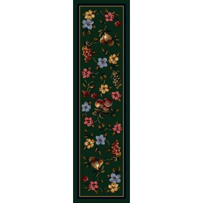 Signature Lorelei Emerald Area Rug Rug Size: Rectangle 21 x 78