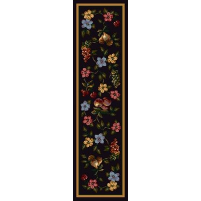 Signature Lorelei Onyx Area Rug Rug Size: Rectangle 21 x 78