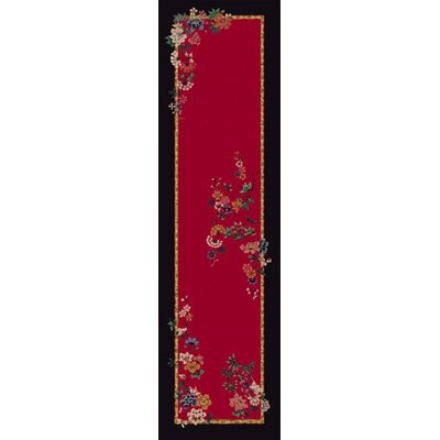 Signature Mindre Ruby Area Rug Rug Size: Rectangle 21 x 78