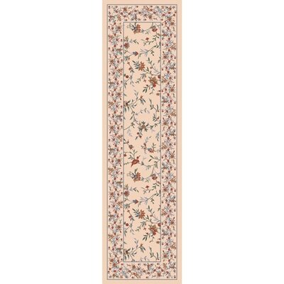 Pastiche Hampshire Floral Sand Rug Rug Size: Rectangle 2'1