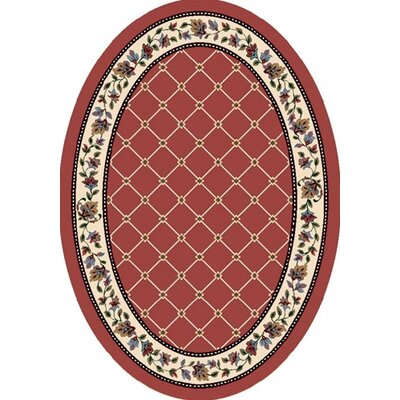 Signature Symphony Rose Quartz Area Rug Rug Size: Oval 54 x 78