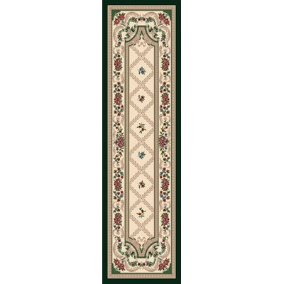 Signature Vanderbilt Opal Peridot Area Rug Rug Size: Rectangle 21 x 78