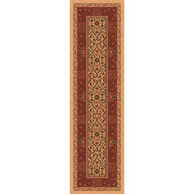Pastiche Sandakan Flaxen Brown Area Rug Rug Size: Rectangle 21 x 78