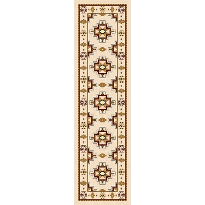 Signature Prairie Star Opal Area Rug Rug Size: Rectangle 21 x 78