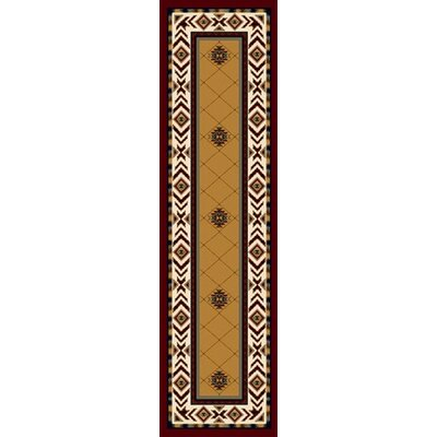 Signature Shiba Garnet Area Rug Rug Size: Rectangle 2'1