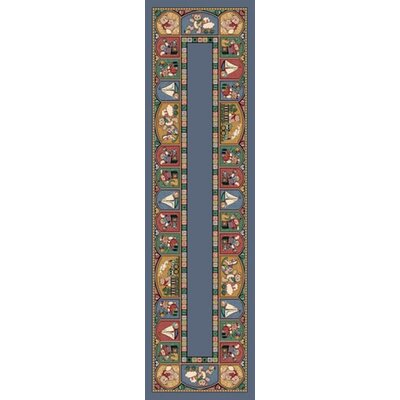 Signature Toy Parade Lapis Area Rug Rug Size: 21 x 78