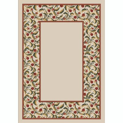 Design Center Opal Latin Rose Area Rug Rug Size: Rectangle 78 x 109