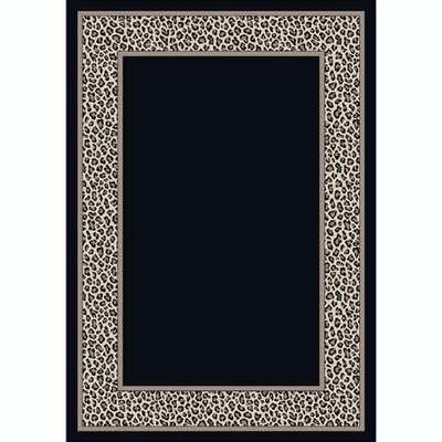 Design Center Leopold Snow Area Rug Rug Size: 109 x 132