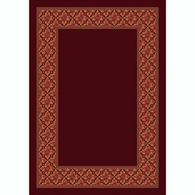 Design Center Cranberry Copernicus Area Rug Rug Size: 109 x 132