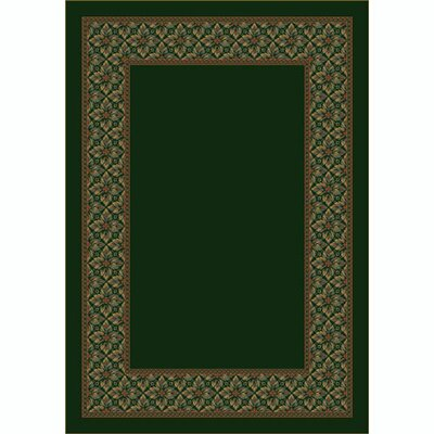 Design Center Olive Copernicus Area Rug Rug Size: 109 x 132