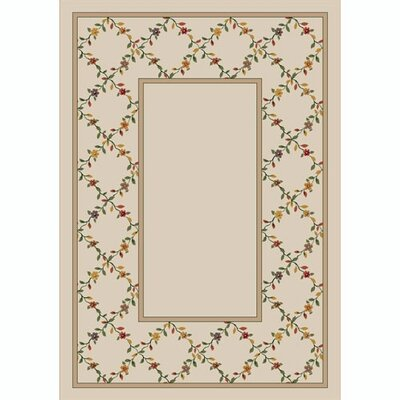 Design Center Opal Maiden Area Rug Rug Size: Rectangle 109 x 132
