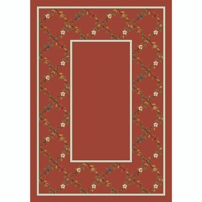 Design Center Rose Quartz Maiden Area Rug Rug Size: Rectangle 109 x 132