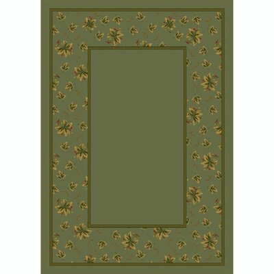 Design Center Moss Erin Area Rug Rug Size: Rectangle 78 x 109