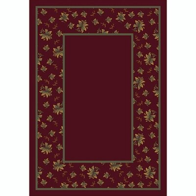 Design Center Garnett Erin Area Rug Rug Size: Rectangle 109 x 132