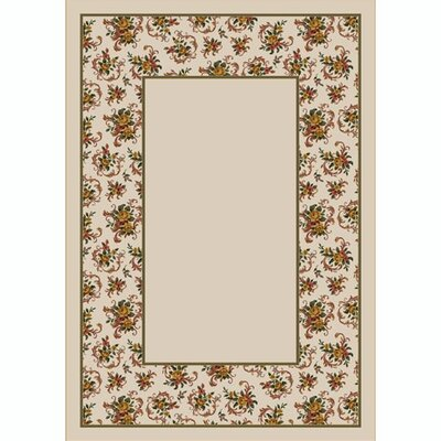 Design Center Opal Cameo Rose Area Rug Rug Size: 310 x 54