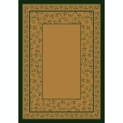 Design Center Maize Leander Area Rug Rug Size: Rectangle 78 x 109
